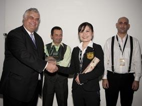 Tamiko Shirakawa (Japon), 3 ème place du concours IBS