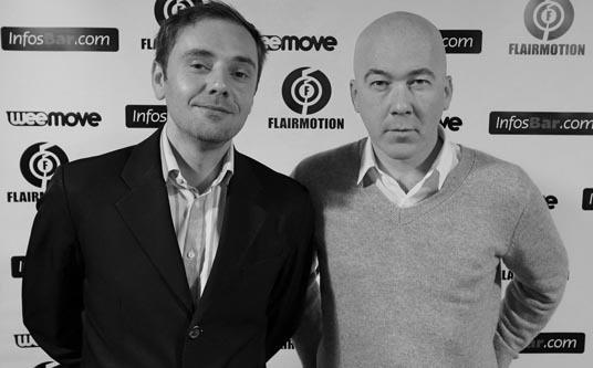 Eric Fossard et Thierry Daniel - Liquid Liquid   /   Photo : Alban Pellus / Infosbar