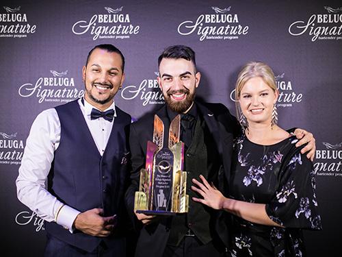 Guillermo Pittaluga, Alessandro Venturi et Natalie Van Wyk