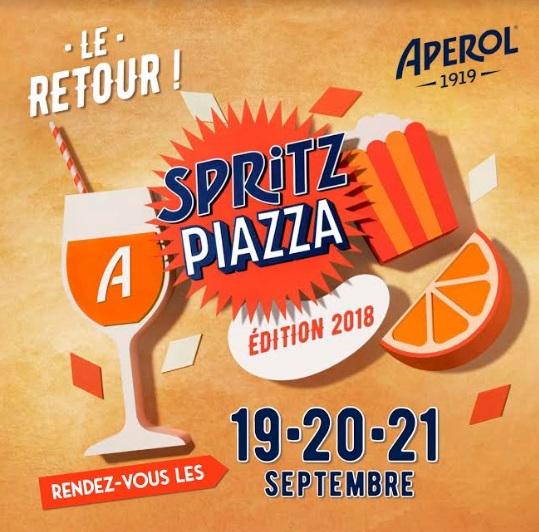 Spritz Piazza 2018 au 118 Warner à Paris