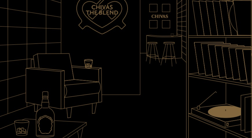 Chivas The Blend : bar éphémère caché dédié au whisky à Paris