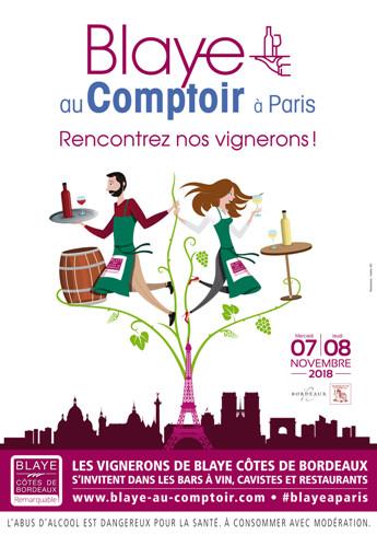 Blaye Au Comptoir 2018 à Paris