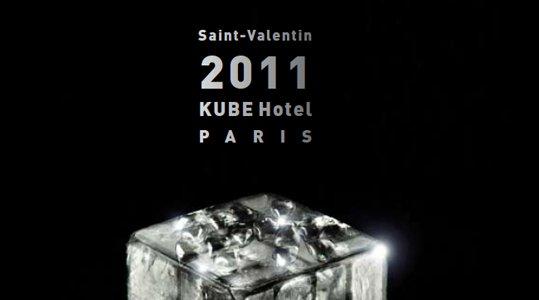 Evasion au Kube Hotel pour la Saint Valentin !