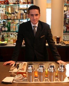Yann Daniel, bar manager du Park Hyatt Vendôme