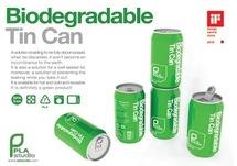 Tin Can, la canette biodégradable