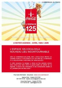 L'Espace 125 de Coca Cola