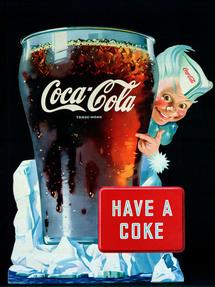 Coca Cola en 1945