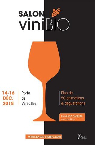 Salon ViniBio 2018 à Paris