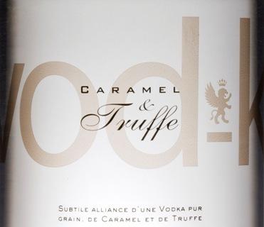 Vod-k : la nouvelle vodka premium au Caramel et à la Truffe