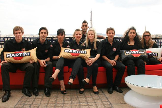 Les 9 participants