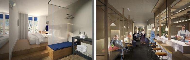 Oh la la ! : le premier hôtel speakeasy de Paris