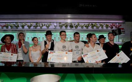 Le Lush Bar (Paris) remporte la Bacardi Mojito Cup 2011