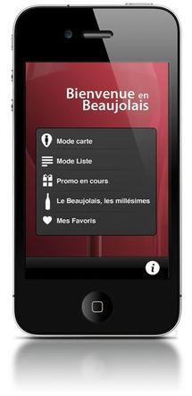 Le Beaujolais arrive sur iPhone