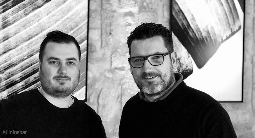 Aperture Montpellier : Rémi Bataillé (chef barman) et Julien Escot (propriétaire) © Infosbar - 2019