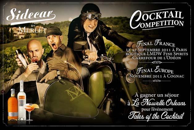 Concours de cocktails : Finale France de la compétition Sidecar by Merlet