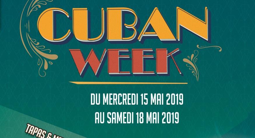Cuban Week 2019 à la Rhumerie