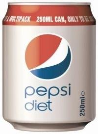 """La canette """"skinny"""" de Pepsi devient 'handy can"""""""