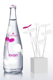 La Maison Courrèges habille Evian