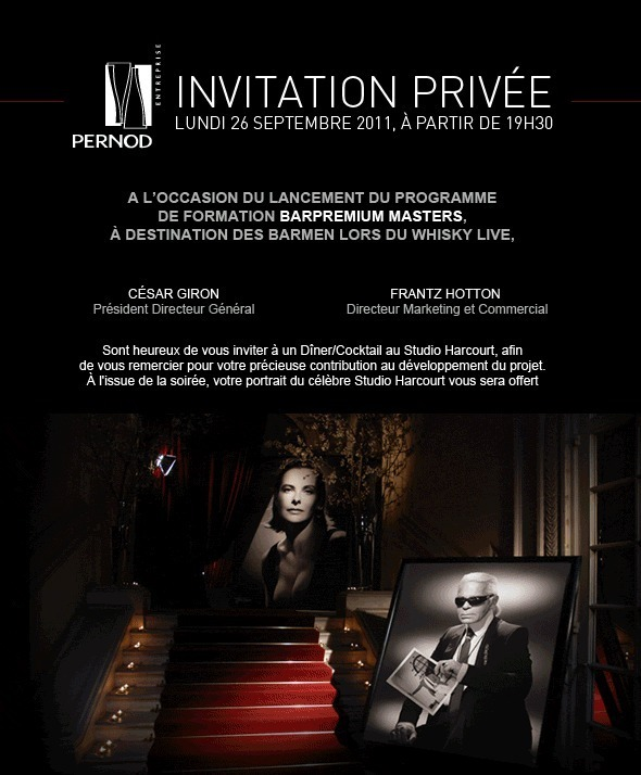 Pernod lance son nouveau programme de formations Barpremium Masters au Whisky Live