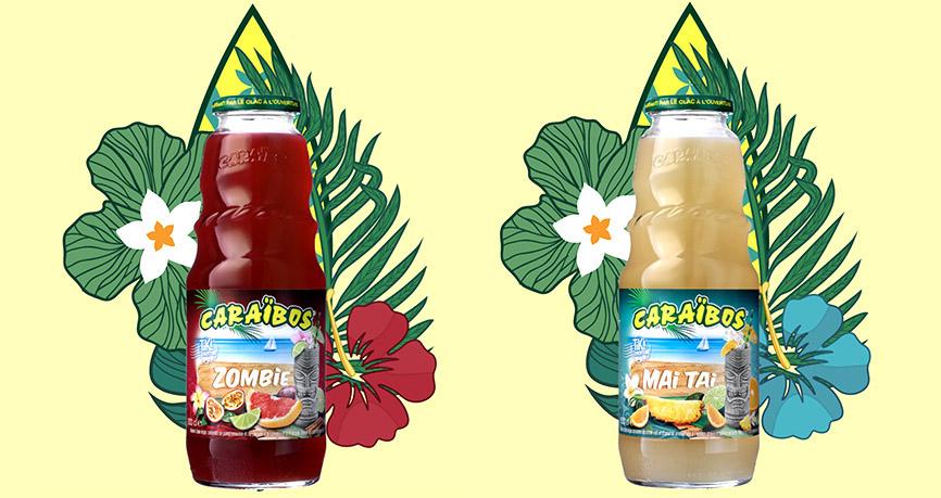 Caraïbos Tiki : nouvelle gamme de jus Tiki pour les professionnels