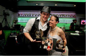 Sabine et Thibault, gagnants du Bacardi Mojito Cup 2011