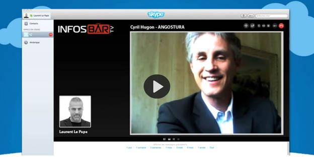 Entretien Skype entre Cyril Hugon (organisateur) et Laurent Le Pape (Infosbar)