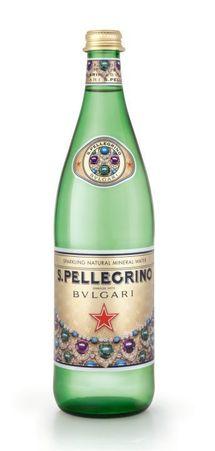 S.Pellegrino collabore avec Bulgari pour les fêtes