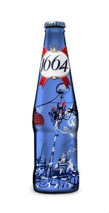 Nouvelle bouteille 1664 pour les fêtes de Noël