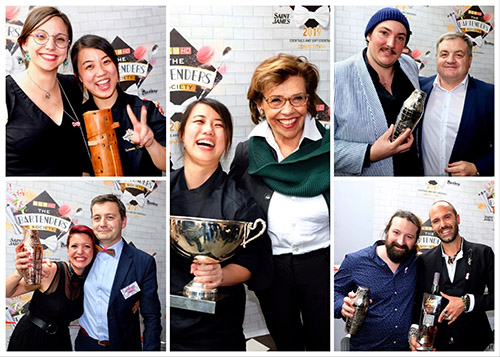 The Bartenders Society 2019 : Victoire de l'incroyable Taïwanaise Summer Chen (Singapour) !
