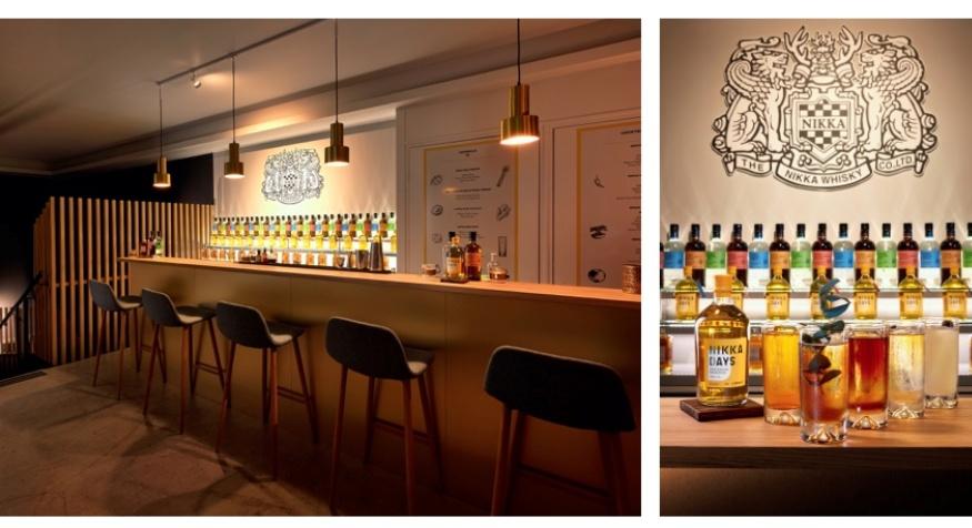 Bar éphémère Nikka au Golden Promise à Paris