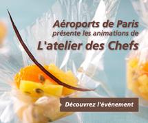 L'atelier des chefs débarque dans les aéroports parisiens