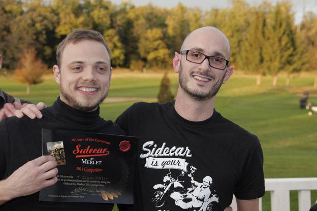 Tiziano Tasso vainqueur final de la compétition Sidecar by Merlet
