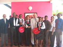 Vainqueur du « Trophée Espoirs Grand Marnier » en Guadeloupe