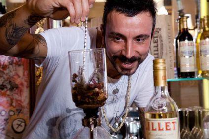 Oscar Quagkiarini du Grazie, 3ème Prix du Lillet Twisted Vesper Cocktail Competition 2011