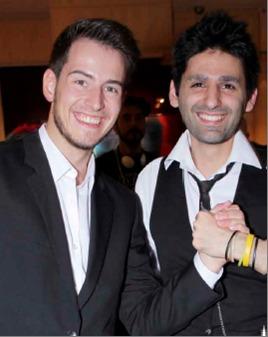 Maxim Kilian et Joseph Akhavan