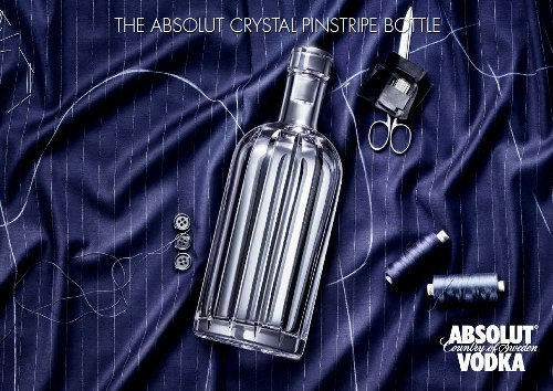 THe Absolut Cristal Pinstripe