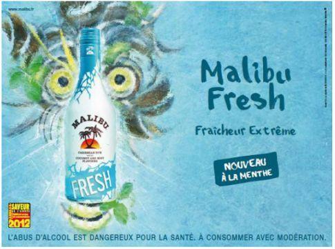 Malibu Fresh, élu saveur de l'année 2012