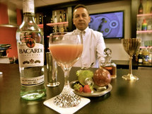 Cocktail Bacardi Ricuerdo by Samuel Roustaing