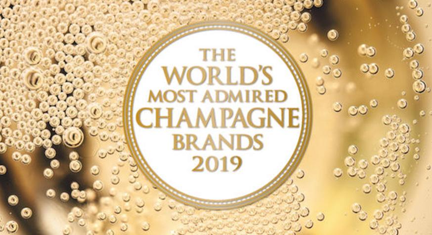 [ARCHIVE - janvier 2019] Les marques de Champagne les plus appréciées du monde en 2019