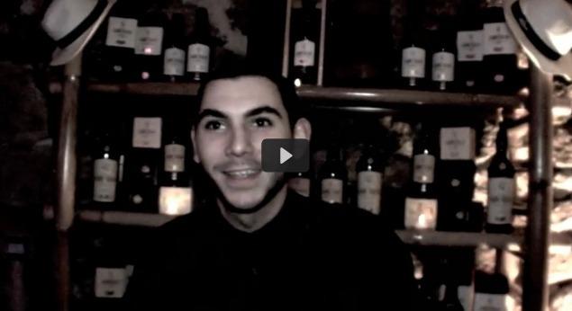 Benjamin chiche, bartender