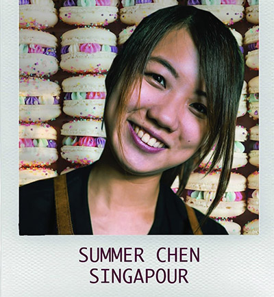 La Singapourienne a fait le buzz