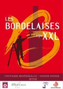 « Les Bordelaises » et ses bouteilles XXL