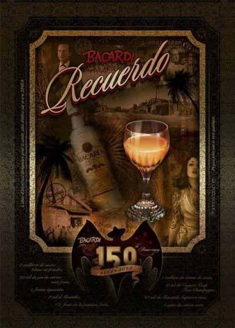 Cocktail Bacardi Recuerdo by Samuel Roustaing