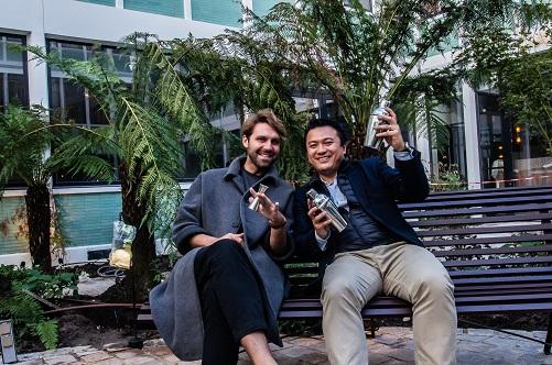 Romain Le Mouëllic et Joël Chan Thaw du Grand Quartier