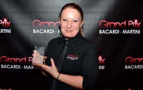 Tiffany Weppe (Disneyland Hotel) - Lauréate Grand Prix Bacardi Martini France