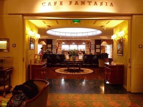 Café Fantasia - Dineyland Hotel - Paris