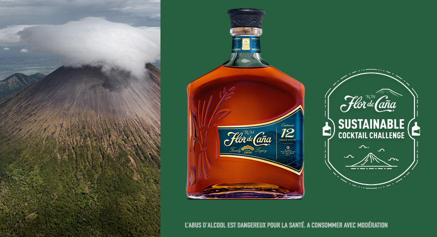 Flor de Caña 12 ans, la base rhum de prédilection pour le Sustainable Cocktail Challenge