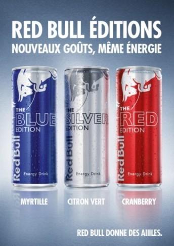 Red Bull dévoile ses 3 nouvelles saveurs