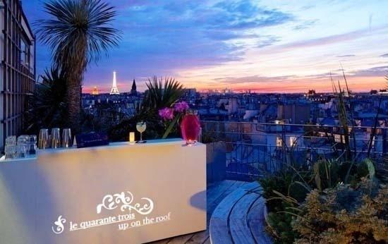 Terrase du Quarante-Trois Cocktail Bar // DR
