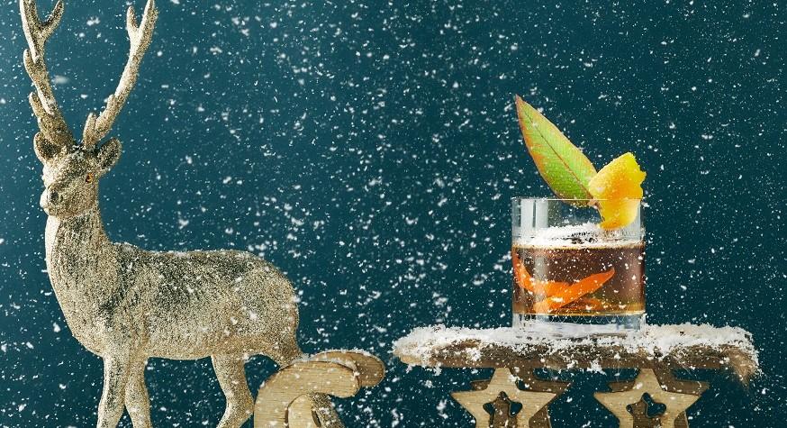 Cocktails de Noël signés Matthias Giroud chez Mon Coco à Paris